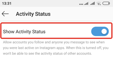 How to disable your Last seen status on Instagram