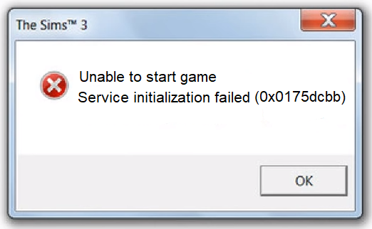 How to fix error 0x0175dcbb Sims 3 | solution