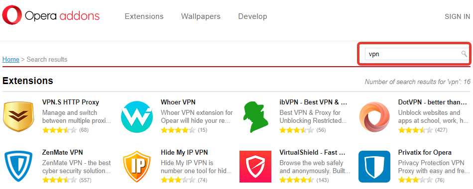 How to enable VPN in Opera browser | change your IP address