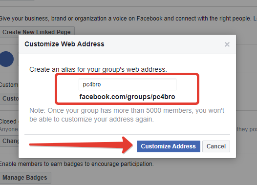 How to change a group to a business page on facebook