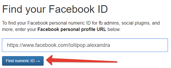 How to find your Facebook group or profile ID (numeric)