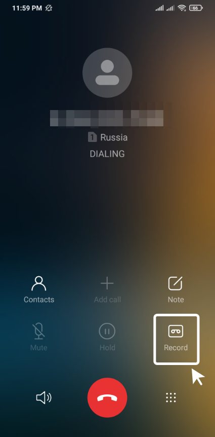 How to record phone calls on Xiaomi