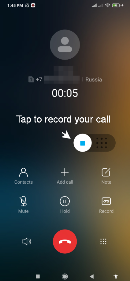 How to disable 'this call is being recorded' alert on Android